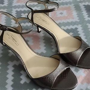 Vince Camuto Snake pattern Heels